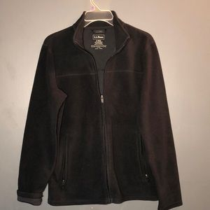 L.L. Bean Zipper Down Long Sleeve jacket Sz:Small